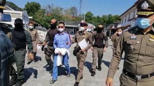 """อัยการฟ้องแล้ว""""หลงจู้สมชาย-ลูกน้อง""""คดีจ้างวานฆ่าวินจยย.รับจ้างที่พัทยา"""