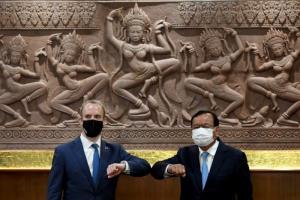 อังกฤษคุยกัมพูชาผลักดันความร่วมมือทางเศรษฐกิจ ตั้งเป้าเป็นคู่เจรจาอาเซียน