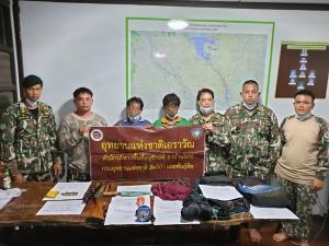 2 พี่น้องนายพรานชาวพม่าออกล่าสัตว์ป่า สุดท้ายไม่รอดโดนรวบทั้งคู่