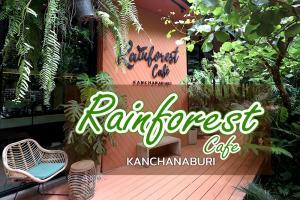 """แวะนั่งชิล """"Rainforest Cafe"""" คาเฟ่เมืองกาญจน์ บรรยากาศป่าฝน"""