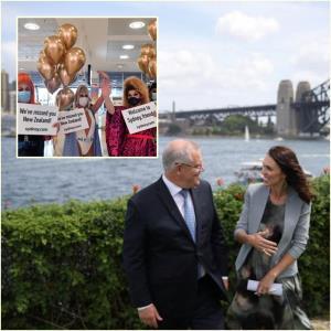 """นิวซีแลนด์สั่ง """"ยกเลิกท่องเที่ยวบับเบิล"""" กับออสเตรเลียหลังประเทศเพื่อนบ้านเกิดโควิด-19ระบาดรอบใหม่"""