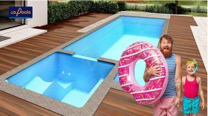 """เจ.ดี.พูลส์ เปิดตัวสระว่ายน้ำรุ่นใหม่ """"แฟมิลี่ พูล F9"""" ลงตัวเพื่อครอบครัว"""