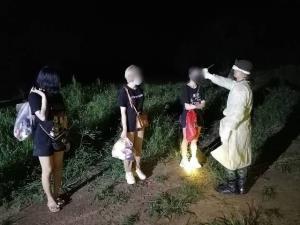สกัดจับ 6 สาวไทยทำงานท่าขี้เหล็ก จ่ายหัวละ 10,000 บาทลอบข้ามช่องทางธรรมชาติกลับไทย