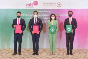 กสิกรไทยเซ็นขายประกันให้เมืองไทยฯ 10 ปี รับค่าตอบแทน 12,700 ล้านบาท