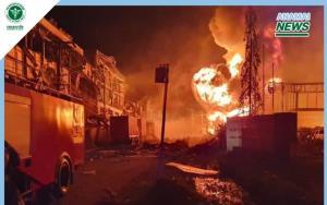 กรมอนามัย ห่วง ไฟไหม้-ระเบิด โรงงานผลิตโฟมและเม็ดพลาสติก แนะปฏิบัติตัวหลังสัมผัสกับสารเคมีรั่วไหล