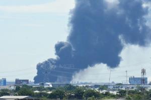 ผู้ว่าฯ ปากน้ำ เผยเหตุโรงงานกิ่งแก้วไฟไหม้ พบผู้บาดเจ็บ 29 ราย เสียชีวิต 1 ราย