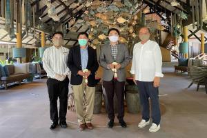 โรงแรมเคปพันวา ภูเก็ต ต้อนรับ วราวุธ ภู่อภิญญา เอกอัครราชทูตไทย ณ กรุงอาบูดาบี