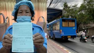 สุดรันทด! รถเมล์สาย 524 หลักสี่-สนามหลวง วิ่งคันเดียว ไม่มีเงินเดือน หัก 3-5% ควักเนื้อสุดๆ