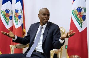ประธานาธิบดีโฌเวแนล โมอิส แห่งเฮติ