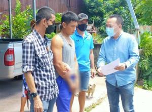 รวบหนุ่มพะเยา ถูกจับยาบ้าคาด่าน อาศัยตำรวจเผลอ วิ่งหนีทิ้งภรรยา