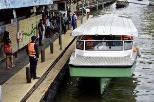 """""""กรมเจ้าท่า""""ฝึกร่วม""""จีน""""เพิ่มศักยภาพความปลอดภัยเรือโดยสารภายใต้กรอบอาเซียน"""