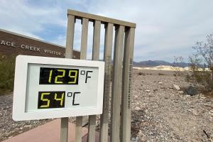 อุณหภูมิระอุเล่นงานสหรัฐฯ หุบเขามรณะเฉียดใกล้สถิติโลกร้อนสุดเท่าที่เคยมีมา
