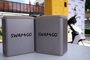 """บุกตลาด 'ไรเดอร์ เดลิเวอรี่"""" เปิดตัว Swap & Go สถานีสลับแบตฯ แบบไม่ต้องรอชาร์จ"""