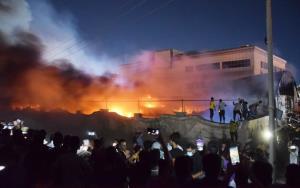 สลด! ไฟไหม้วอร์ดผู้ป่วยโควิดใน 'รพ.อิรัก' ยอดดับพุ่งกว่า 'ครึ่งร้อย'