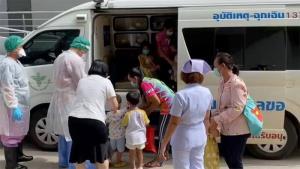 หายป่วยติดเชื้อโควิดได้กลับบ้านแล้ว เด็กและครูศูนย์เด็กเล็กตำบลศรีสุข 42 คน