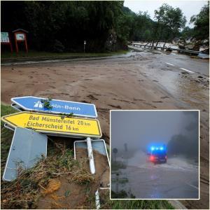 อัปเดต : เยอรมนีเจอน้ำท่วมฉับพลันครั้งร้ายแรง ดับอื้อ 21 ยอดสูญหายพุ่ง 70 บ้านเรือนพัง ประชาชนติดกลางกระแสน้ำท่วม