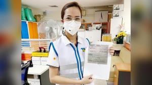 ผู้บริหารเครือโรงพยาบาลธนบุรี โชว์เช็ค 780 ล้าน จ่ายองค์การเภสัชฯซื้อโมเดอร์นา