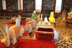เจ้าฟ้าพัชรกิติยาภาฯ เสด็จแทนพระองค์ ทรงบำเพ็ญพระราชกุศลอุปสมบทนาคหลวง 2564
