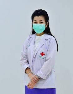 """รศ. แพทย์หญิงคนึงนิจ กิ่งเพชร"""" อาจารย์ประจำสาขาเวชศาสตร์นิวเคลียร์ ภาควิชารังสีวิทยา คณะแพทยศาสตร์ จุฬาลงกรณ์มหาวิทยาลัย"""
