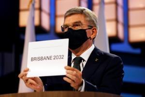 """ไร้คู่แข่ง """"บริสเบน"""" จุดพลุฉลองเป็นเจ้าภาพโอลิมปิก 2032"""