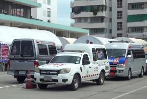 """บุรีรัมย์ติดโควิดยังพุ่งเกิน 100 ผู้ป่วยเข้าโครงการ""""อุ้มลูกหลานเซราะกราวกลับบ้าน""""แล้ว 239 ราย"""