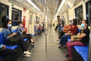 รถไฟฟ้า MRT จำกัดผู้โดยสาร 50% นั่งที่เว้นที่-งดสนทนาในขบวนรถ