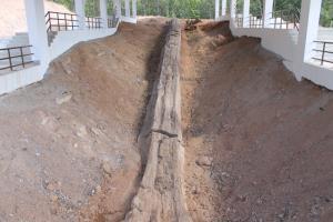 แหล่งฟอสซิลไม้กลายเป็นหิน ตาก (ภาพ : อช.ดอยสอยมาลัย)