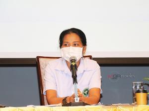พญ.อภิญญา เพชรศรี นายแพทย์เชี่ยวชาญ (ด้านเวชกรรมป้องกัน) รองผู้อำนวยการนายแพทย์สาธารณสุขจังหวัดพัทลุง