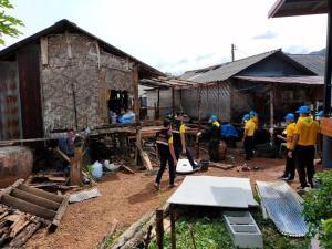 เด็ก-เยาวชน จ.กระบี่ ผนึกเครือข่าย  ลงพื้นที่ซ่อมแซมบ้านให้ผู้ยากไร้-ทำกิจกรรมจิตอาสาในชุมชน