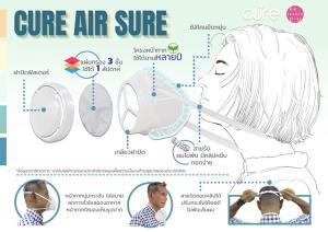 อาร์ยู แอสเซท  หนุน 3 สถาบันจุฬาฯ ผลิตหน้ากาก CUre  AIR SURE  เพื่อแพทย์สู้โควิด