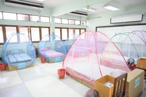 ไปรษณีย์ไทยเปิดศูนย์พักคอย 118 เตียง รองรับผู้ป่วยโควิด-19 กลุ่มสีเขียว