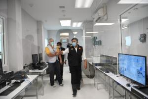 กทม. เตรียมเปิด Modular ICU อาคารที่ 2 รับผู้ป่วยโควิดสีแดง