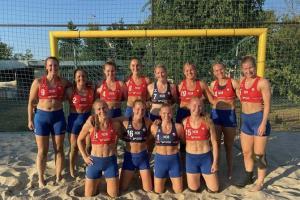 เป็นงง! ทีมแฮนด์บอลชายหาดหญิงนอร์เวย์ถูกปรับเงินฐานสวมกางเกงกีฬาแทนบิกินี