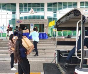 รฟม.จับมือเอกชนส่งมอบอาหารแรงงานก่อสร้างรถไฟฟ้า 3 สาย