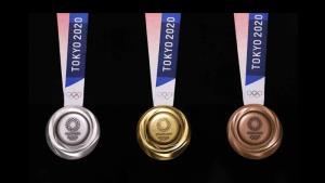 """เหรียญรางวัล """"โตเกียว เกมส์ 2020"""""""