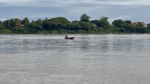 หนองคายน้ำโขงพุ่งพรวด 2 เมตร เตือนเฝ้าระวังกระชังปลาหลุดไปกับกระแสน้ำ