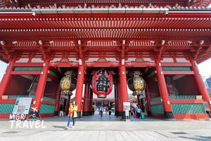 วัดอาซากุสะ วัดเก่าแก่ที่เป็นสถานที่ท่องเที่ยวไฮไลต์ของโตเกียว