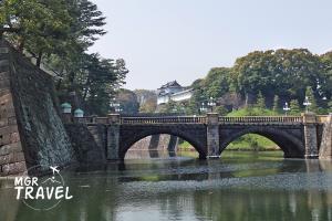 พระราชวังอิมพีเรียลและสะพานนิจูบาชิ