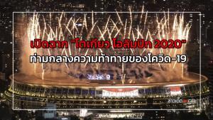"""เปิดฉาก """"โตเกียว โอลิมปิก 2020"""" ท่ามกลางความท้าทายของโควิด-19"""