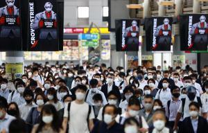 ญี่ปุ่นผวา! 'โตเกียว' ติดโควิดใหม่ 3,177 คน ทุบสถิติสูงสุดต่อเนื่อง 2 วันติด