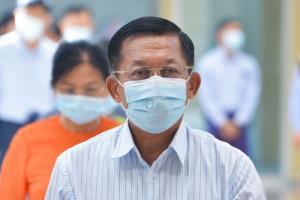 'มินอ่องหล่าย' ขอประชาคมระหว่างประเทศช่วยพม่ารับมือวิกฤตโควิด