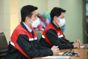 """""""ชัยวุฒิ"""" ส่ง ปณท ชูจุดแข็งการขนส่งช่วยสินค้าเกษตร-สนับสนุนระบบสาธารณสุขฝ่าโควิด-19"""