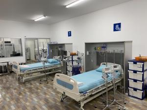 รพ.บุษราคัม เปิด ไอซียู สนาม 17 เตียง รักษาผู้ป่วยโควิดอาการหนักวันนี้วันแรก