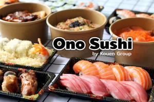 """Ono Sushi"" อาหารญี่ปุ่นจัดเต็ม ส่งความอร่อยถึงบ้าน"
