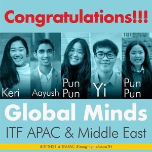 """""""เชลล์"""" ตอกย้ำมุ่งมั่นเปลี่ยนผ่านสู่พลังงานสะอาด! ส่งทีม Global Minds คว้ารางวัลชนะเลิศการแข่งขันออกแบบเมืองแห่งอนาคต"""