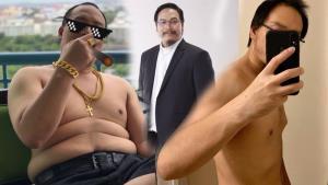 """""""ฟองเบียร์"""" แชร์ความสำเร็จ ลดน้ำหนัก 4 เดือน ลง 26 โล หักดิบเหล้า-บุหรี่ หลังป่วยความดันสูง"""
