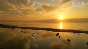 ชมบรรยากาศสวนริมทะเล ในเมืองหรงเฉิง ประเทศจีน