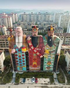 สุดทึ่ง! โรงแรมฮกลกซิ่วในจีน โดดเด่นกว่าใครในย่านนี้