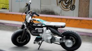 BMW Motorrad เผยโฉม Concept CE 02 ต้นแบบมอเตอร์ไซค์ไฟฟ้าสำหรับวัยรุ่น