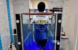 นักบิด ยามาฮ่า ไทยแลนด์ เรซซิ่งทีม เตรียมพร้อมร่างกาย ล่าแชมป์ประเทศไทย OR BRIC 2021 ที่บุรีรัมย์